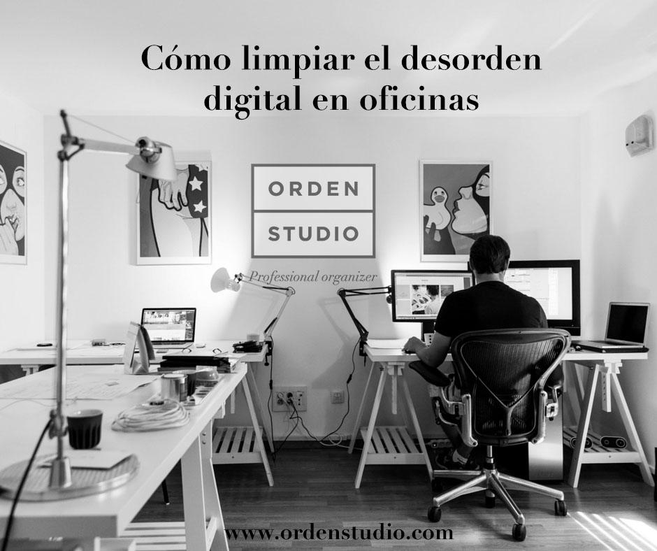 Cómo limpiar el desorden digital en oficinas 1