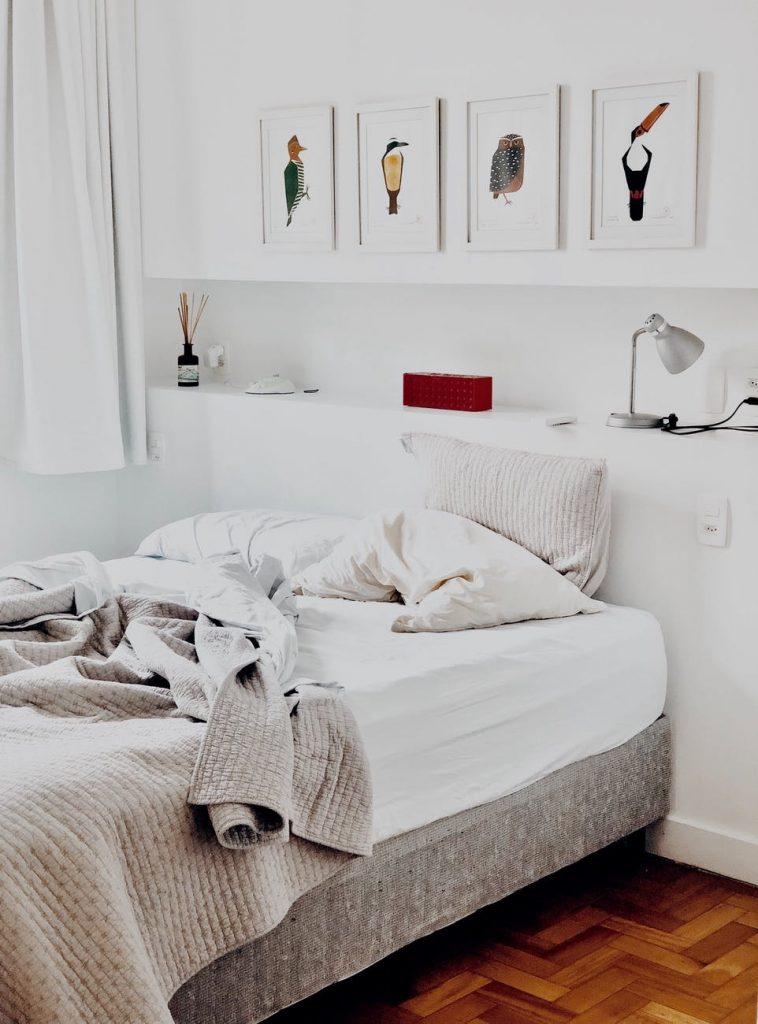 imagen de cama deshecha en post ¿Eres una persona desordenada?