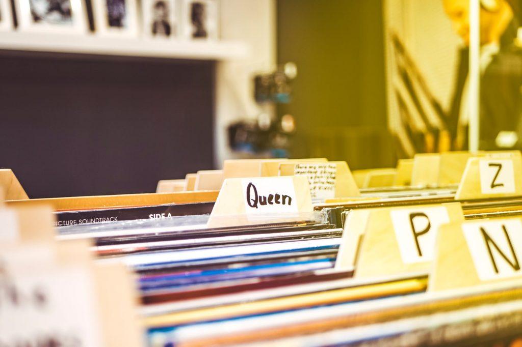 coleccionar discos