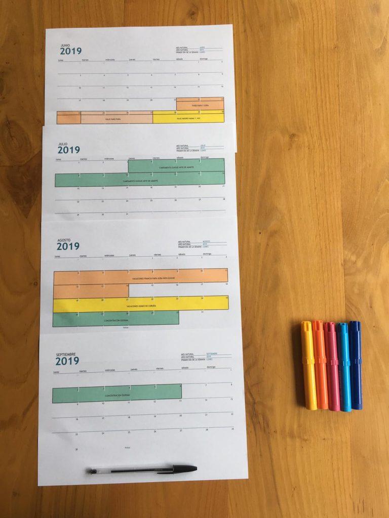Cómo organizar y planificar el verano con tus hijos 1