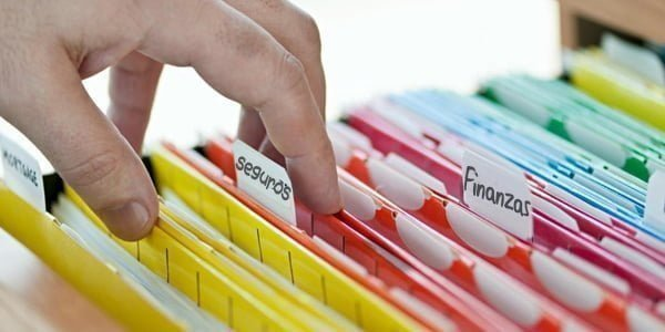 Como ordenar documentos en casa, imagen decorativa