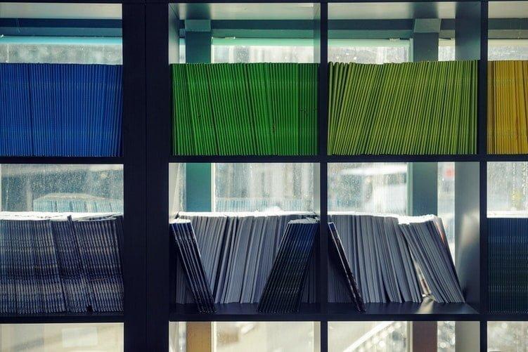 carpetas para organizar en casa