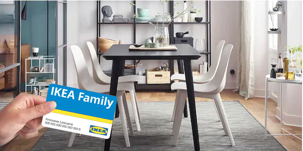 Ser miembro de IKEA Family te da grandes beneficios en Orden Studio 1