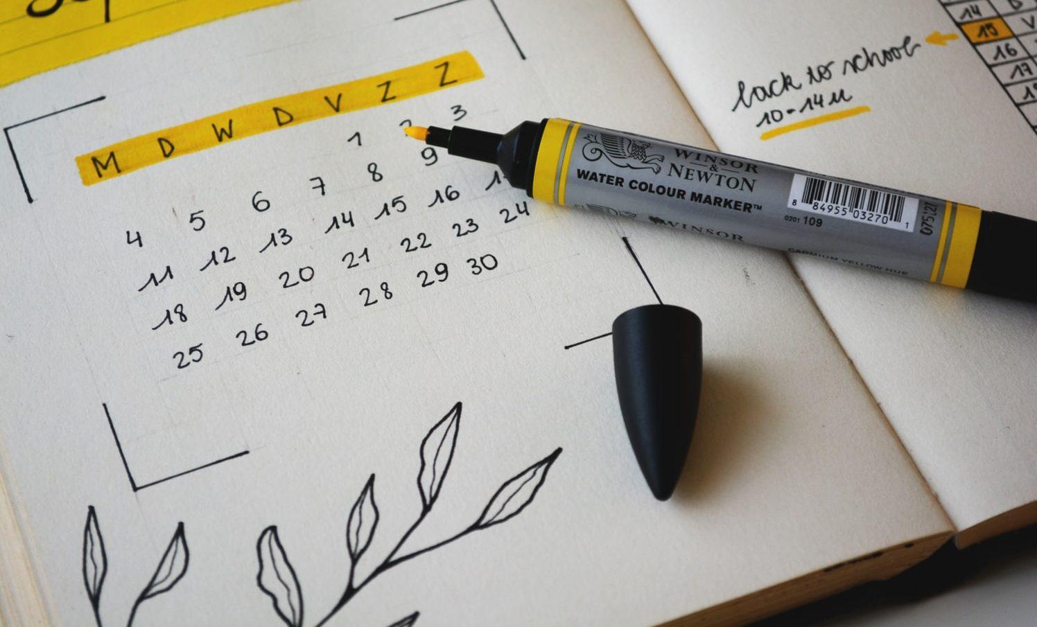 Planificador de tareas diarias de Orden Studio 1