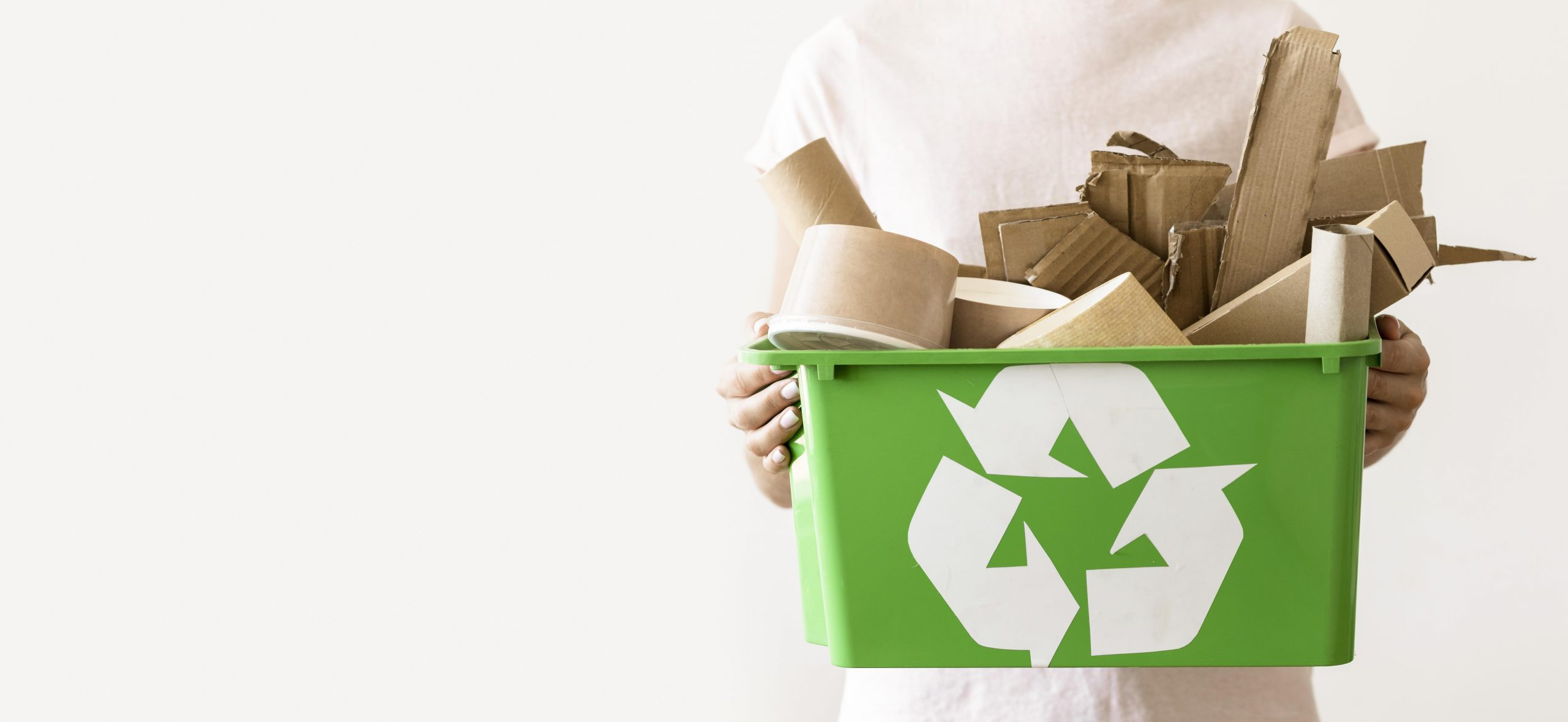 Cómo saber qué contenedor de basura debo usar