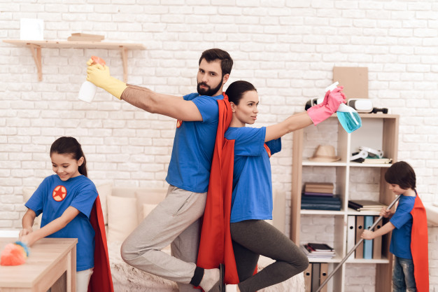 Cómo hacer para que tu familia se involucre en las tareas de orden y organización