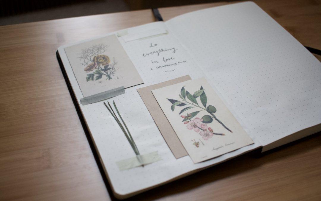 Journaling, los beneficios de escribir en tu diario