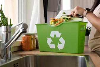 Reciclar en casa ocupando poco espacio